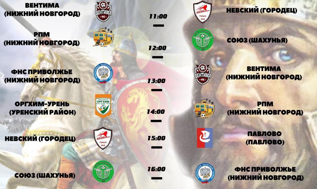 Тур Чемпионата Нижегородской области по мини-футболу